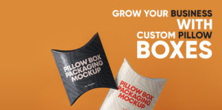 Grow Your Business with Custom Pillow Boxes